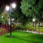 پایه چراغ های پارکی و چمنی