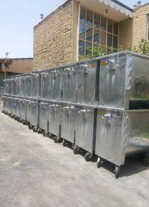 سطل زباله صنعتی
