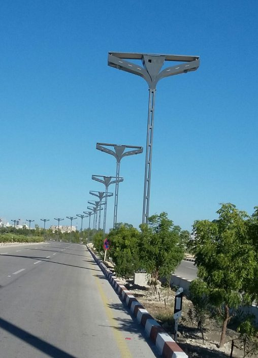 فروش انواع پایه چراغ روشنایی