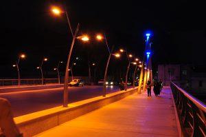طرح پایه چراغ پارکی