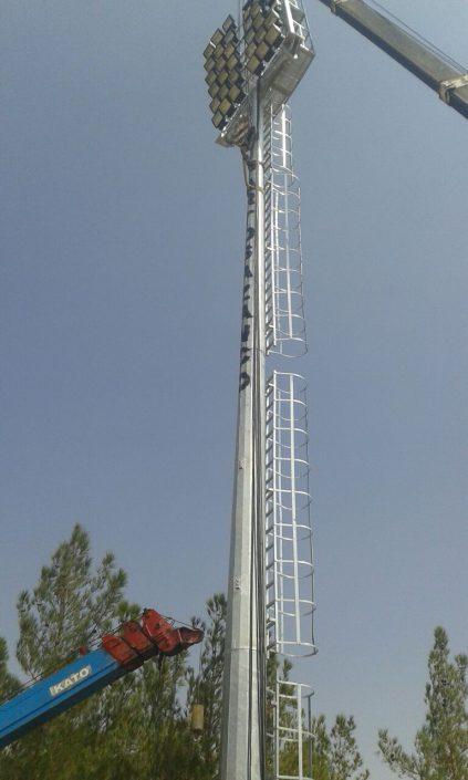 شرکت تولیدی برج های روشنایی