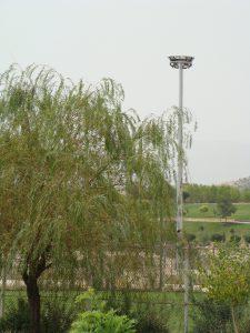 برج روشنایی سبد ثابت