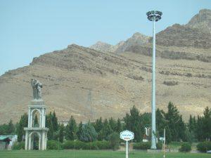 برج روشنایی با سبد متحرک