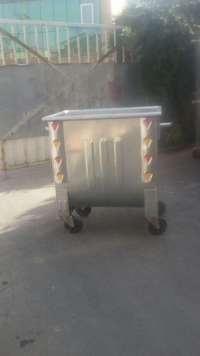 قیمت سطل زباله مکانیزه فلزی