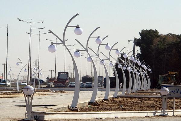 مشخصات فنی پایه چراغ خیابانی