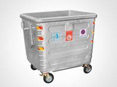 فروش سطل زباله فلزی