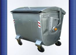 سطل زباله فلزی شهری