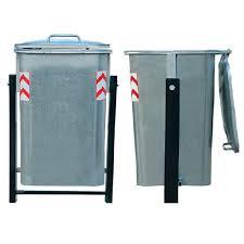 سطل زباله شهری فلزی