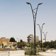 سازنده پایه چراغ خیابانی