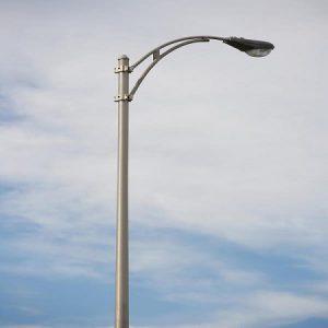 پایه چراغ خیابانی لوله ای