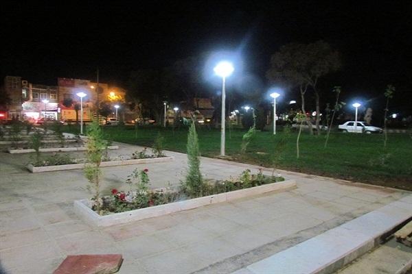 برگترین تولیدی پایه چراغ پارکی