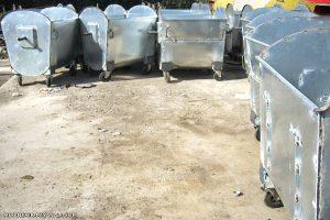 ساخت سطل زباله فلزی