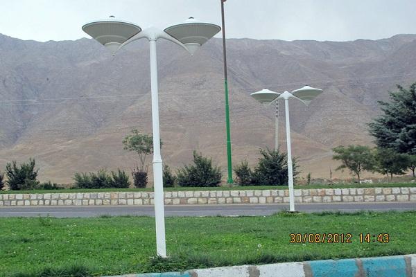 برزگترین تولیدی پایه چراغ پارکی