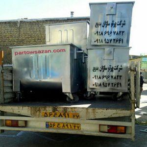 تولید مخازن زباله اصفهان