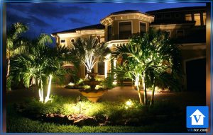 پایه چراغ حیاط و باغ