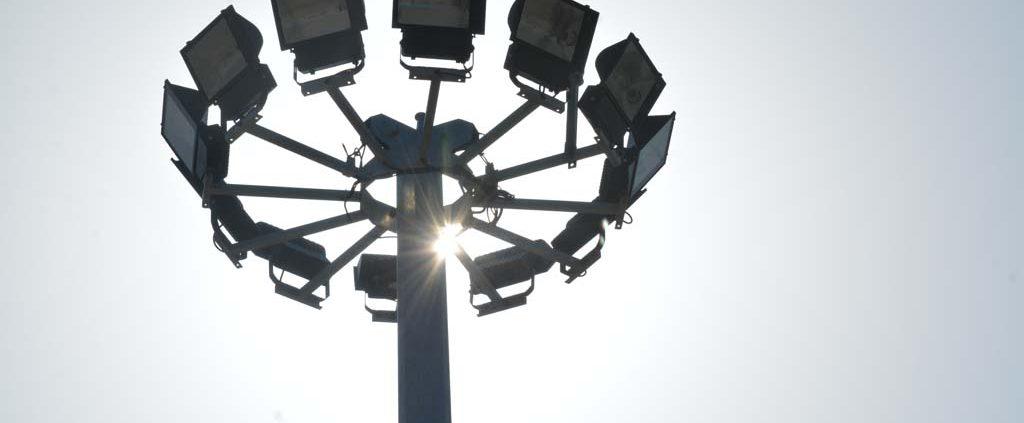 دکل روشنایی تلسکوپی
