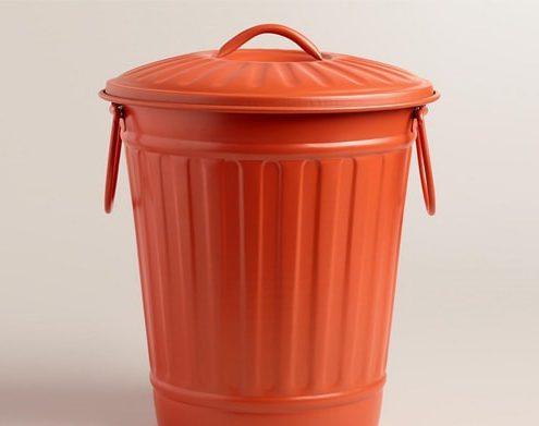 عرضه سطل زباله