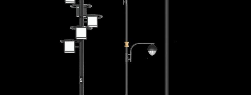 انواع پایه چراغ روشنایی